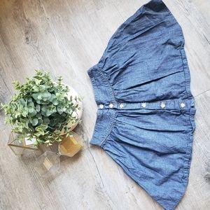 OSHKOSH | Girls Denim Skirt Size 7